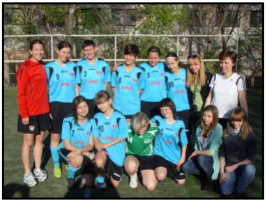 GKs in Action - 2013 May - Dnipropetrovsk Girls Team