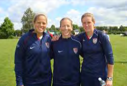 GKs in Action - 2008 June July - Chantel Jones Tracy Alyssa Naeher