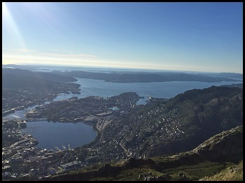 top of Ulriken